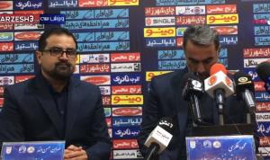 واکنش محمود فکری به تساوی با تیم مدعی قهرمانی