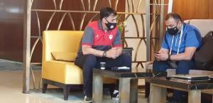 جلسه آذری با نماینده کنفدراسیون فوتبال آسیا