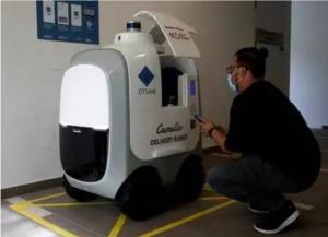 رباتهای سنگاپوری رکورد تحویل غذا را ثبت کردند