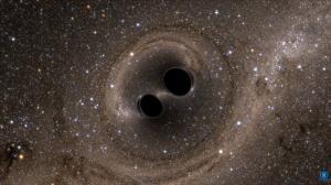 وقتی سیاهچالهها با هم برخورد میکنند