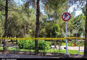 بوستانهای پایتخت ۲ هفته تعطیل شد