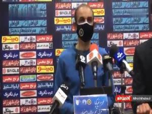 واکنش سرمربی سپاهان به توقف برابر نفت مسجدسلیمان
