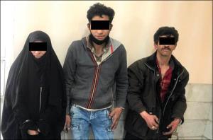ماجرای دستگیری اعضای باند سرخ پوست