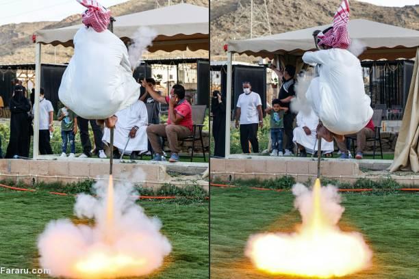 عکس/ رقص جنگ با تفنگ در «طائف» عربستان