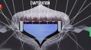 ابداع دستگاه بسیار جالب چند کاره آب شیرین کن خورشیدی و همزمان منبع نوری در شب