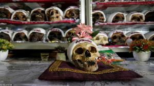 جشن عجیب روز جمجمه برای قدردانی از مردگان در بولیوی!