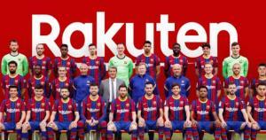 عکس تیمی رسمی بارسلونا برای فصل 2020/21