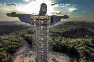گوناگون/ ساخت تندیس عظیم مسیح (ع) در برزیل