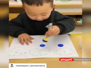 آموزش مفاهیم اولیه اعداد به کودک زیر 4سال