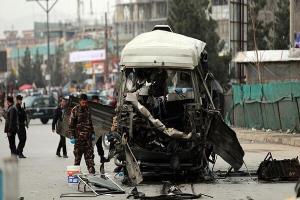 انفجار بمب در افغانستان با ۴ کشته و ۲۴ زخمی