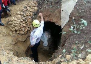 ریزش مرگبار خاک بر سر سه کارگر آب و فاضلاب در سنندج