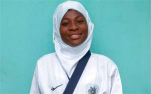 شگفتی سازی تکواندوکار باردار نیجریهای در مسابقات!