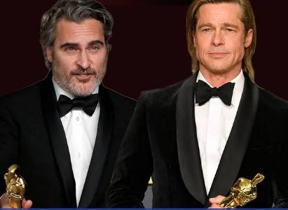 واکین فینیکس و برد پیت در میان اهدا کنندگان جوایز «اسکار»