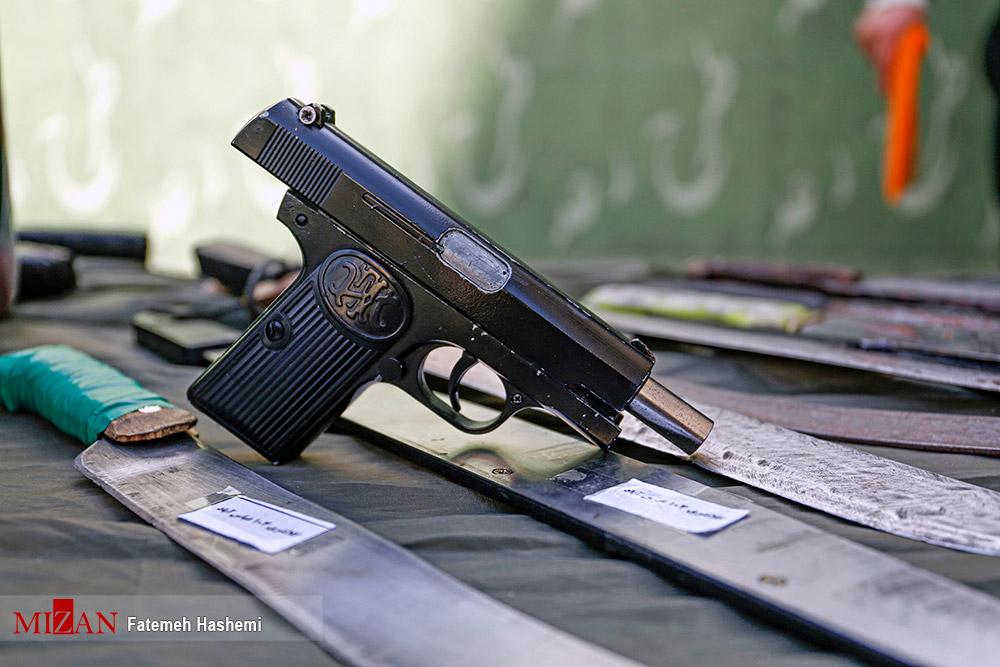 عکس/ اسلحه های گرم سارقان تهران
