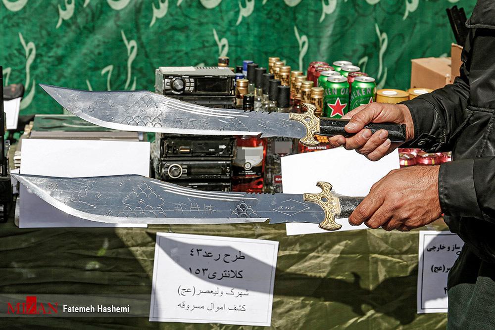 سلاح سرد وحشتناک سارقین در تهران