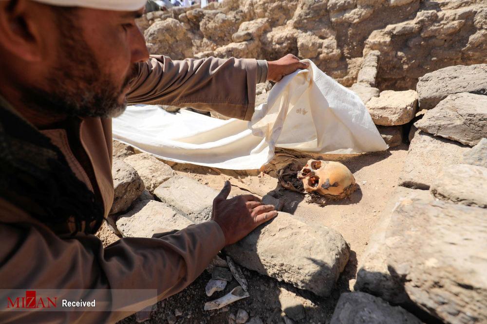 حفاری شهر طلایی در مصر