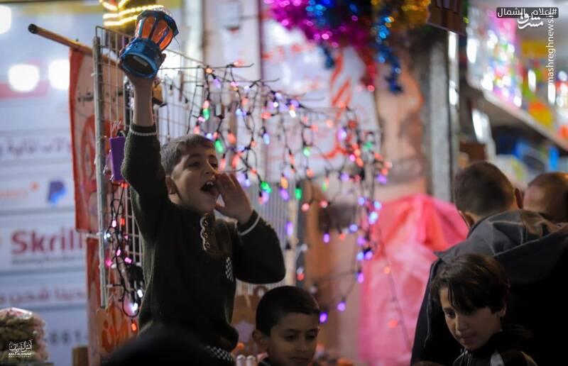 شور و شوق ماه مبارک رمضان در فلسطین