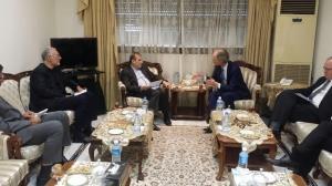 رایزنی مشاور ارشد ظریف با نماینده گوترش در امور سوریه