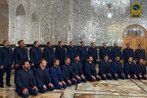 اجرای زیبای دعای «یا علی و یا عظیم» توسط گروه همخوانی محمد رسولالله(ص)