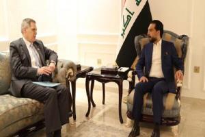 رایزنی رئیس پارلمان عراق با سفیر آمریکا در بغداد