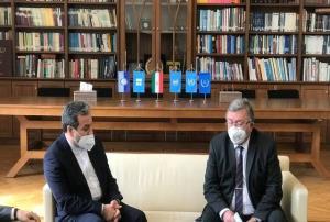 گفتگوی عراقچی و اولیانوف درباره وضعیت گفتوگوهای ایران و ۱+۴