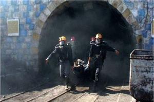 کشته و زخمی شدن ۲ کارگر بر اثر ریزش معدن کرومیت دره شور فاریاب