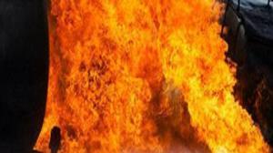 آتش به کاهدان زد