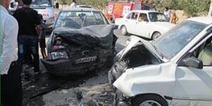 حادثه رانندگی در محور پلدختر ۶ مصدوم برجای گذاشت