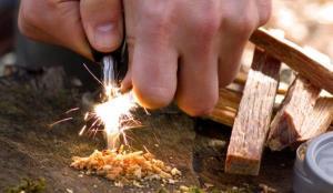 این هم یک مدل آتش درست کردن