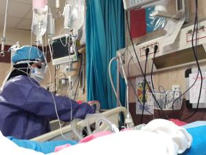 ۲۸ بیمار بدحال کرونا در بیمارستان شاهرود بستری هستند