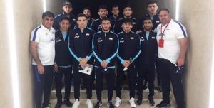 اعضای تیم ملی کشتی آزاد راهی قزاقستان شدند