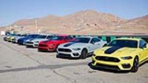 تاج پرفروش ترین خودروی اسپورت در دنیا روی سر موستانگ