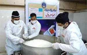 اطعام مهدی در ۷۲ نقطه استان سمنان در طول ماه رمضان
