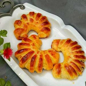 طرز تهیه نان پوآچا مربایی خوشمزه و مخصوص ترکیه ای