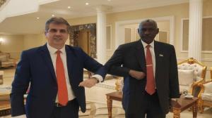 اولین هیئت رسمی سودان هفته آتی به اراضی اشغالی میرود