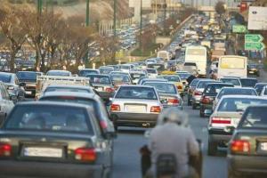 ترافیک در مسیر مشهد ـ چناران پرحجم است