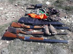 ۸ متخلف صید و شکار در آرانوبیدگل دستگیر شدند