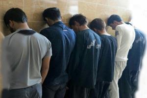 دستگیری دزدان 6 میلیارد تومانی قبل از فرار از کشور