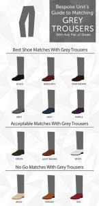 بهترین رنگ کفش برای شلوار خاکستری