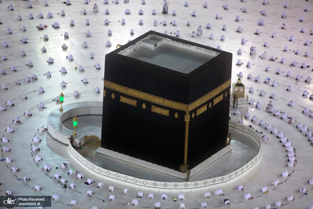 اقامه نماز صبح اولین روز ماه مبارک رمضان در مکه