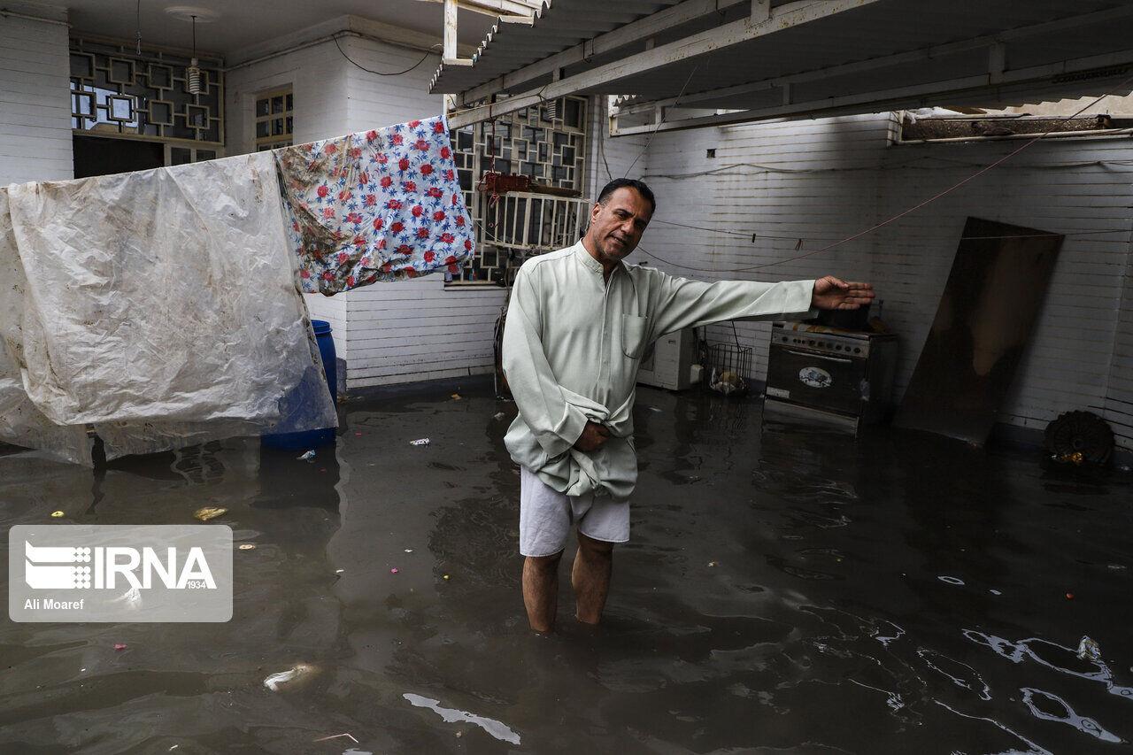 ۳۷ منزل مسکونی در شهداد دچار آبگرفتگی شد