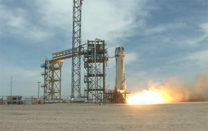 فضاپیمای بدون سرنشین نیو شپرد با حضور خدمهی پرواز آزمایش شد