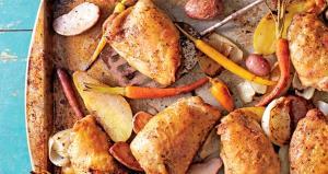 ران مرغ تنوری؛ خیلی خوشمزه و راحت
