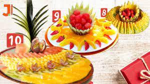 تزئین میوه مخصوص فصل بهار