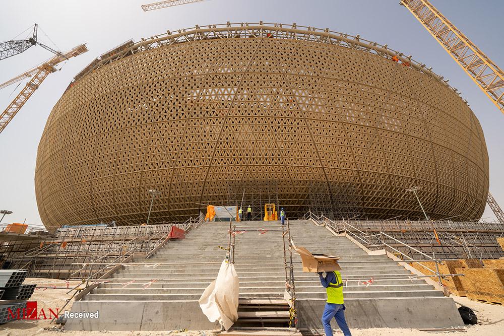 ساخت استادیوم میزبان فینال جام جهانی ۲۰۲۲ قطر