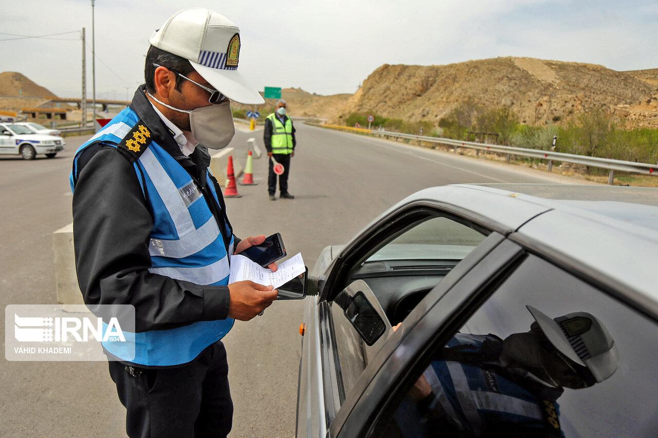 ۸۴۵ دستگاه خودروی غیربومی از جادههای خراسان رضوی برگردانده شدند
