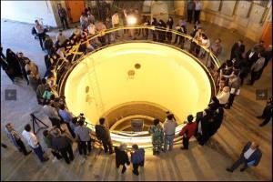 اعضای کمیسون شوراها از نیروگاه آب سنگین اراک بازدید میکنند