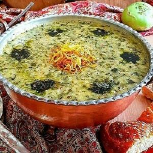 آش برگ؛ غذای سنتی بختیاری ها در فصل بهار