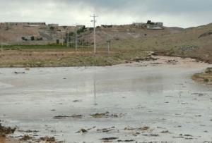 بارندگی در خراسان جنوبی خسارت جزئی داشت