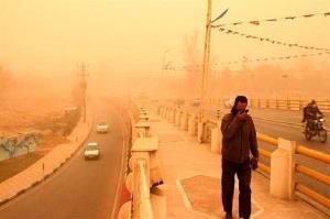 پیشبینی وقوع گردوغبار در خوزستان